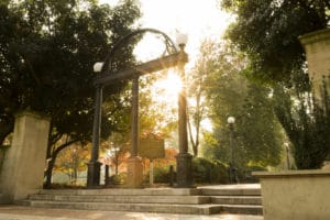 picture of the arch on UGA campus